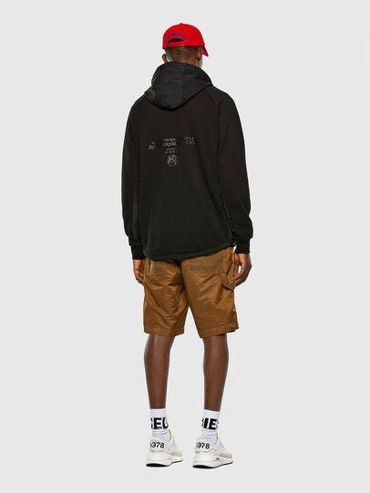 Diesel - S-RUNNER, Black - Sweaters - Image 7