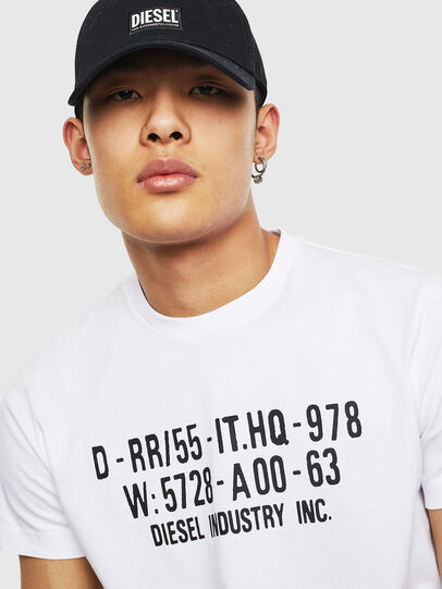 Diesel - T-DIEGO-S2, White - T-Shirts - Image 3