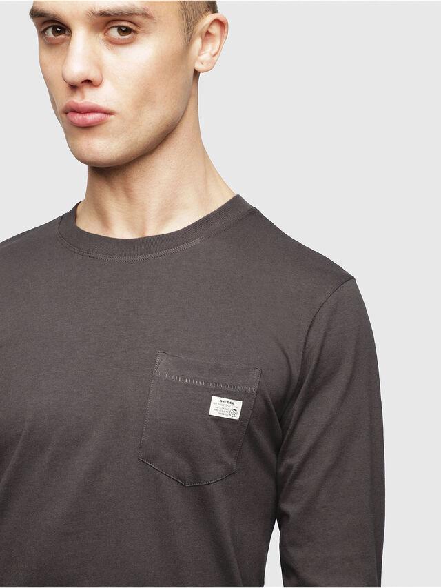 Diesel - UMLT-JUSTIN, Dark grey - T-Shirts - Image 3