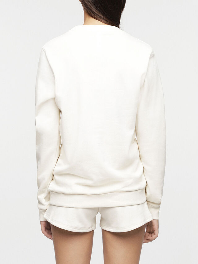 Diesel - UFLT-WILLA, White - Sweaters - Image 2