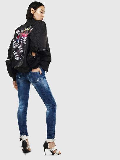 Diesel - Gracey JoggJeans 0099S, Dark Blue - Jeans - Image 6