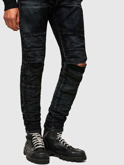 Diesel - D-Strukt JoggJeans® 069TG, Black/Dark grey - Jeans - Image 8