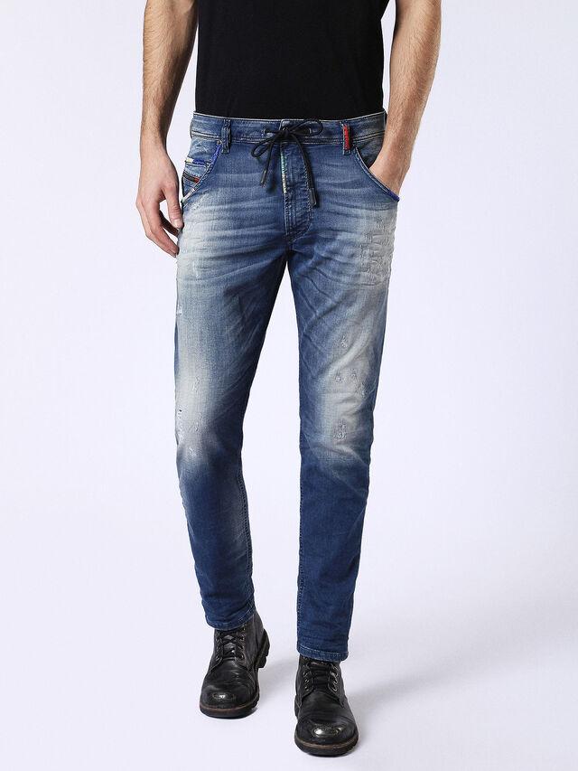Diesel - Krooley JoggJeans 0680Y, Medium blue - Jeans - Image 2