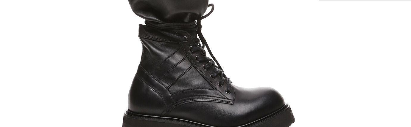 Footwear Man Diesel Black Gold