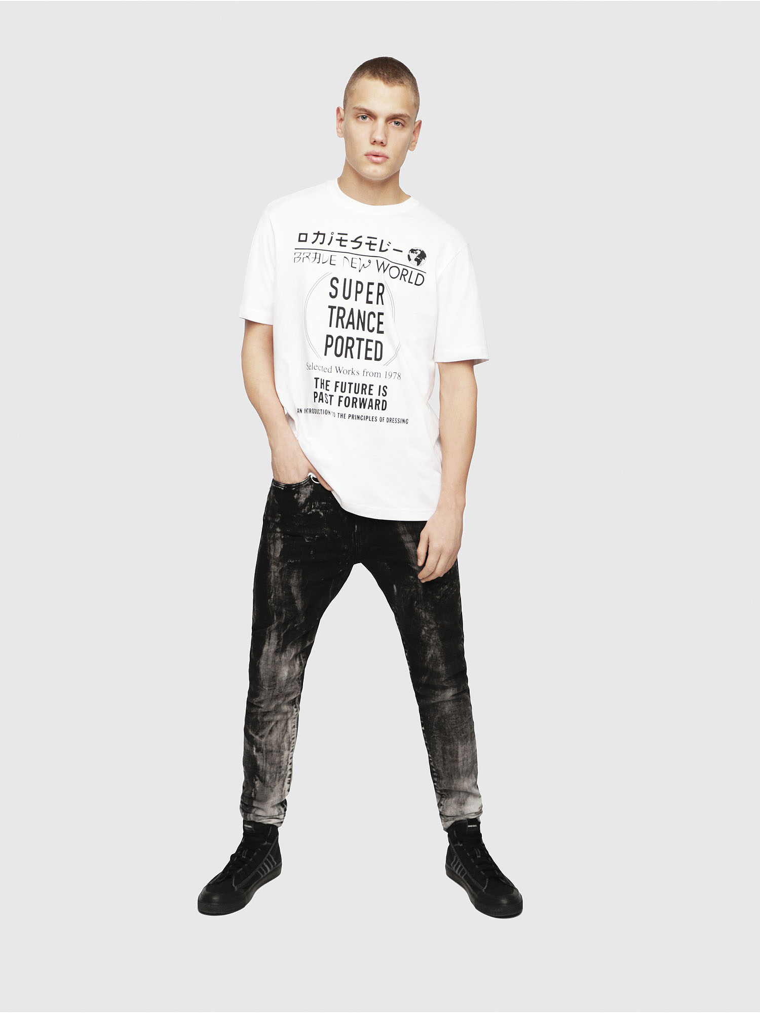 Diesel - T-JUST-YL,  - T-Shirts - Image 4