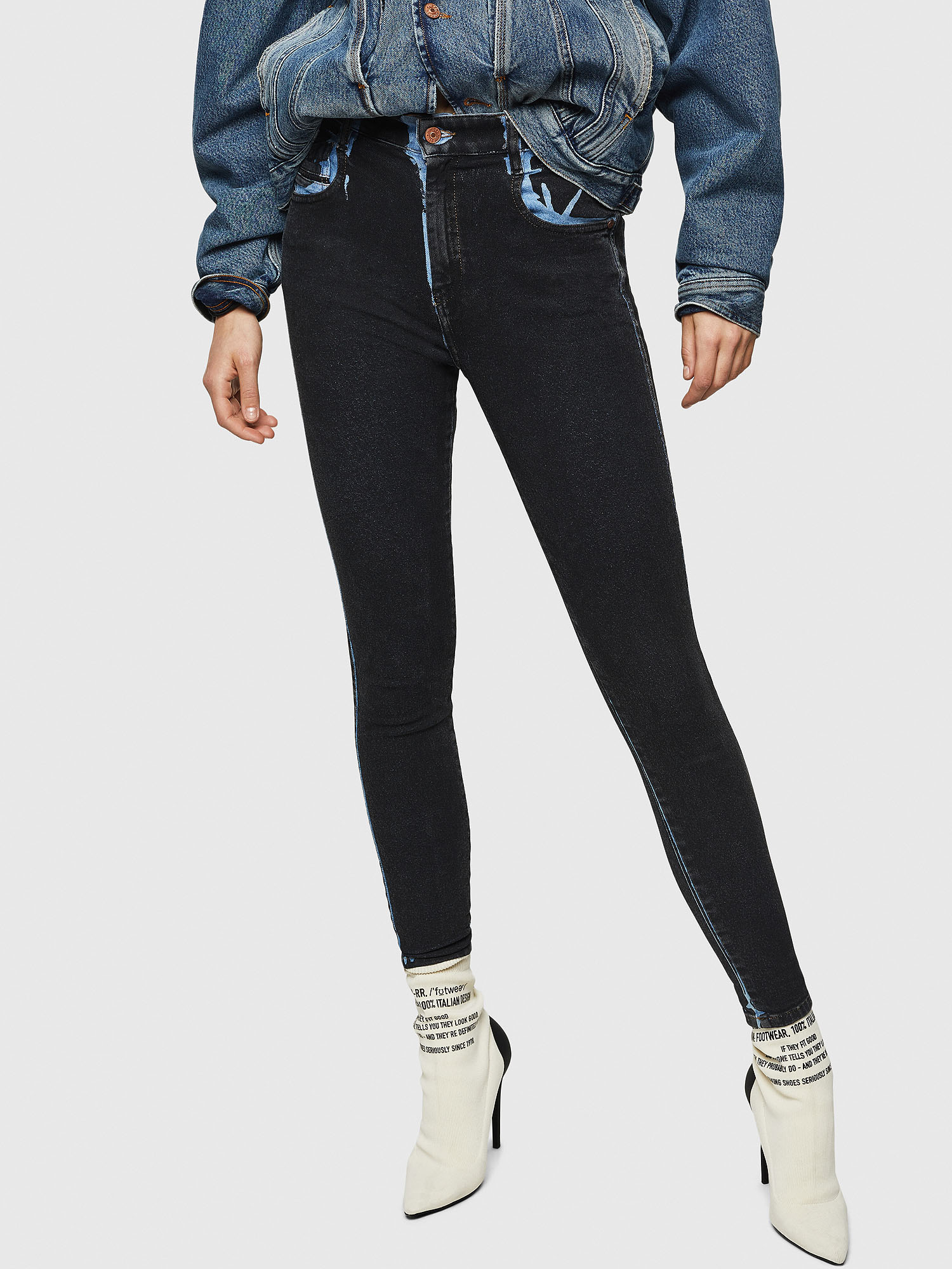 Diesel - Slandy High 0094B,  - Jeans - Image 1
