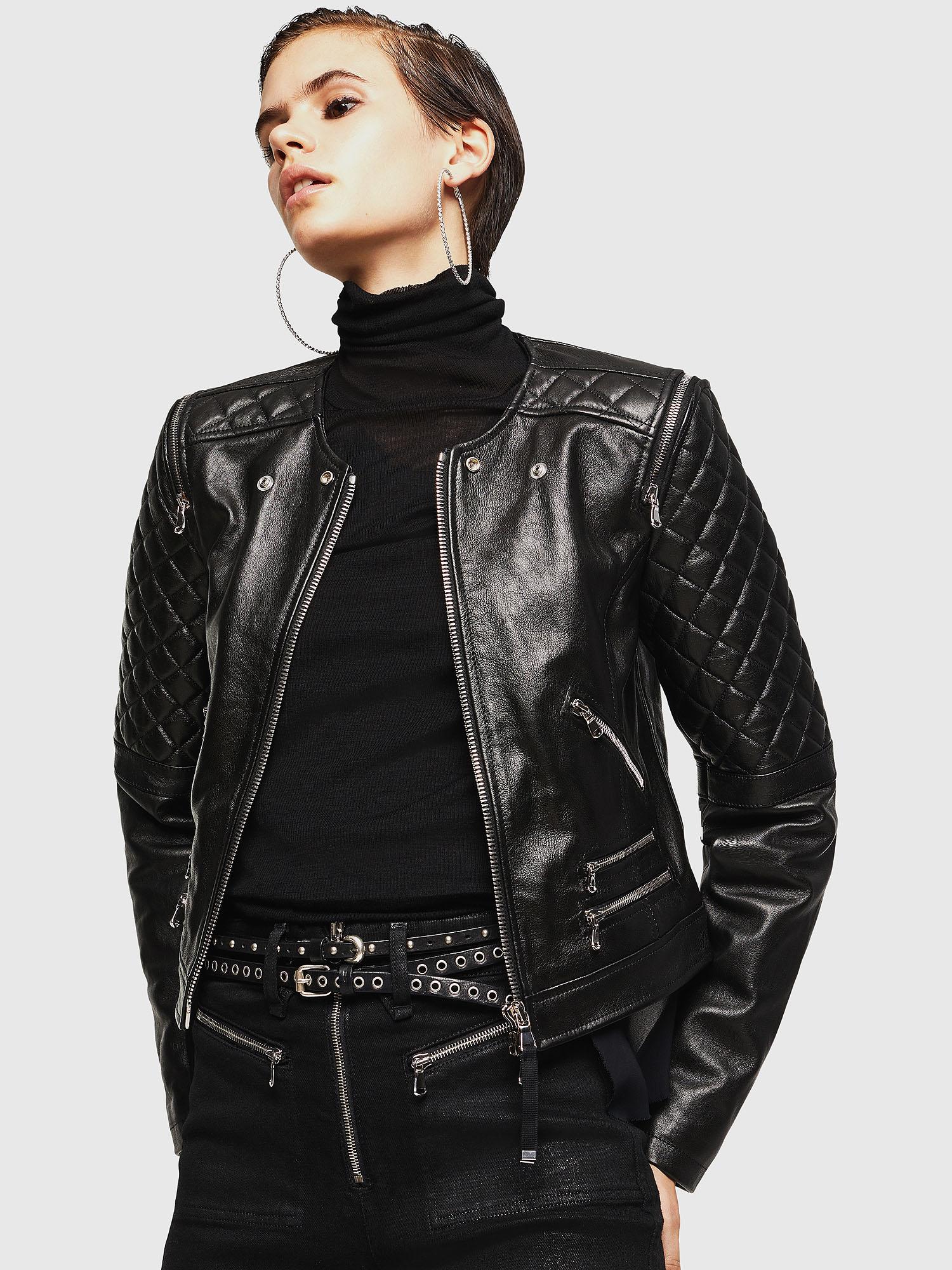 Diesel - LIVIA,  - Leather jackets - Image 1